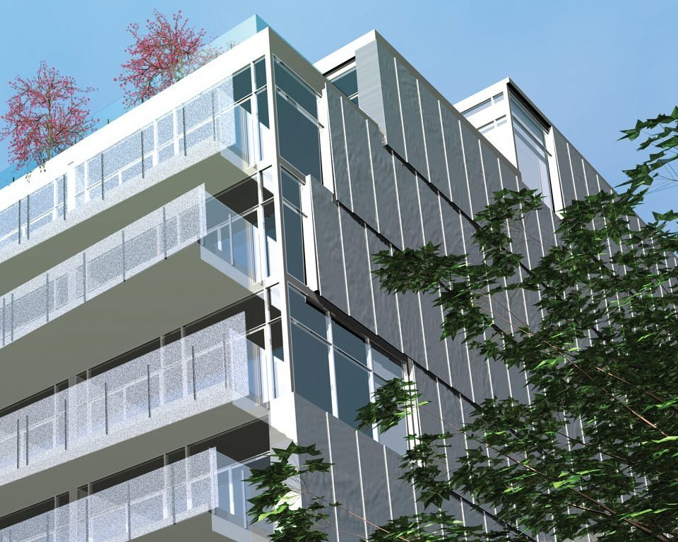 Parc - Loft Residences on King West Balcony View Toronto, Canada