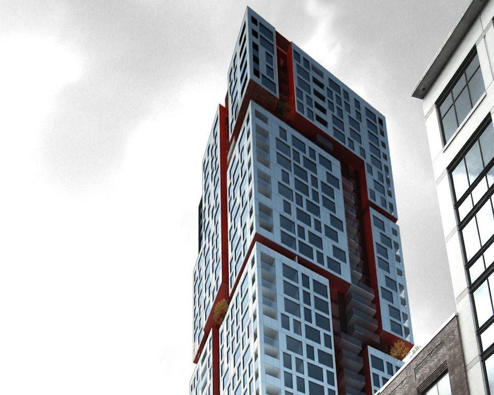 Picasso Condos Upward View Toronto, Canada