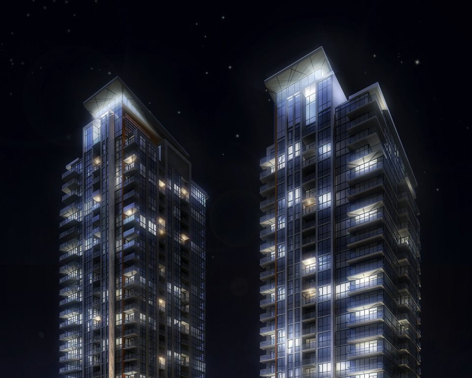 Pinnacle Uptown Crystal Condominiums Close View Toronto, Canada