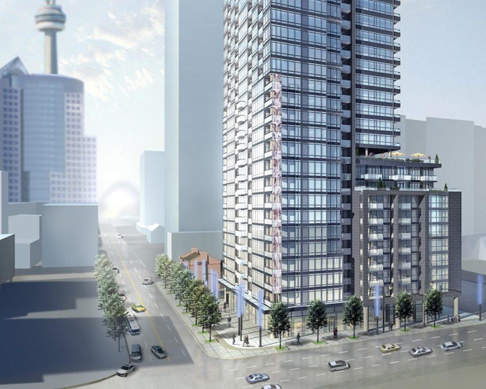Pinnacle on Adelaide Condos Street View Toronto, Canada