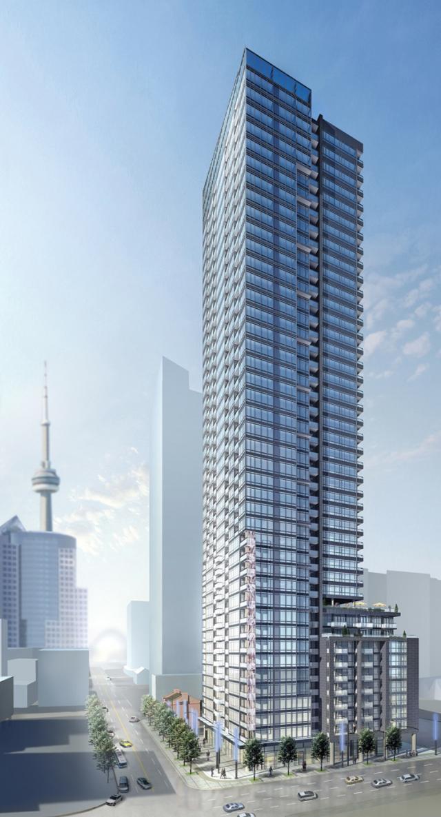Pinnacle on Adelaide Condos Building View Toronto, Canada