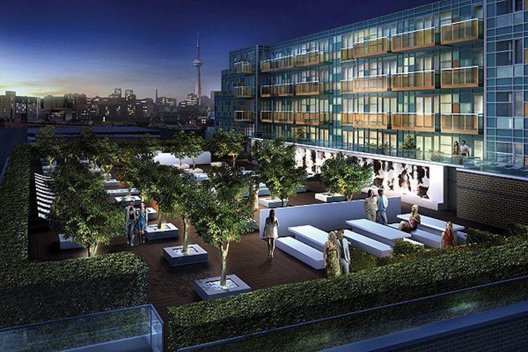 Queen & Portland Loft & Condominium Residences Terrace Party Toronto, Canada