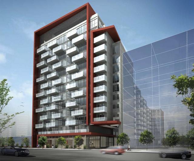 Rêve Condos Building View Toronto, Canada