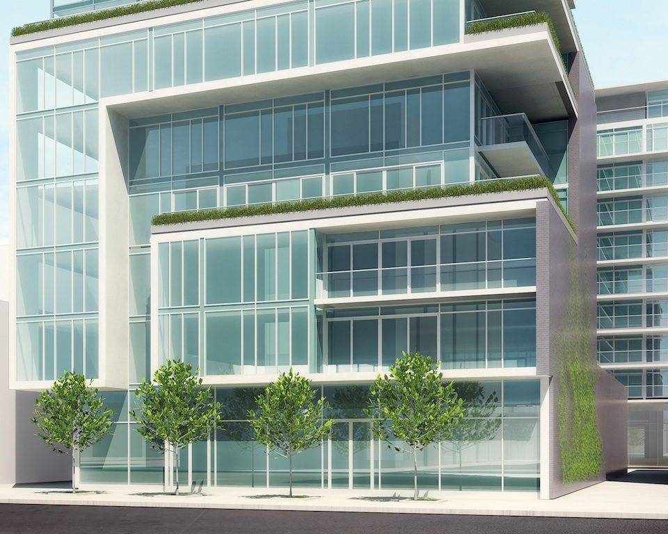 SIX50 King West Condos Front View Toronto, Canada