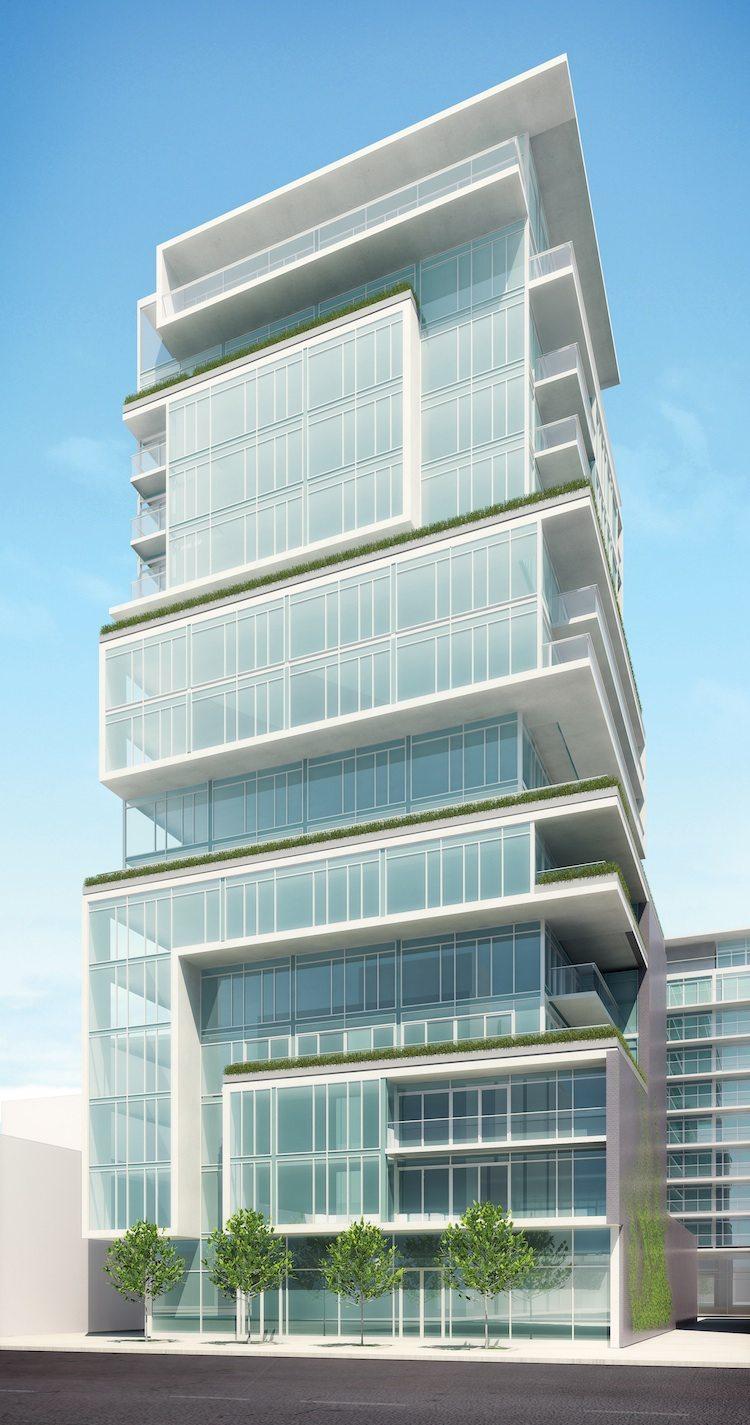 SIX50 King West Condos Building View Toronto, Canada