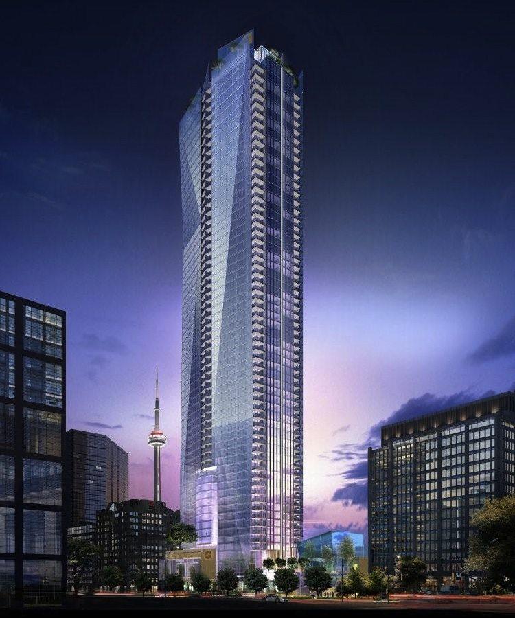 Shangri-La Toronto Condos Building View Toronto, Canada