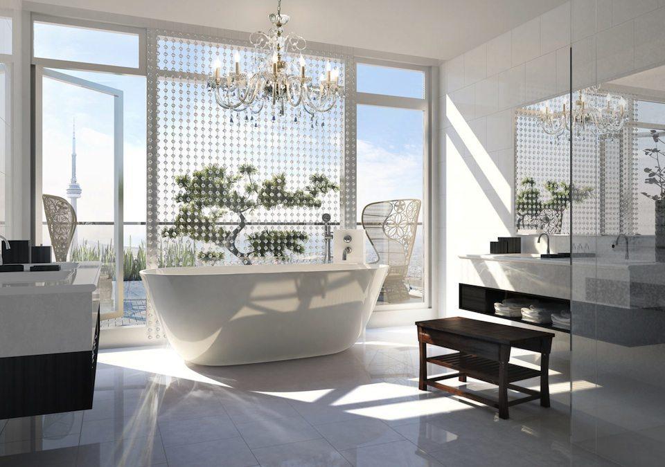 Shangri-La Toronto Condos Bathroom Toronto, Canada