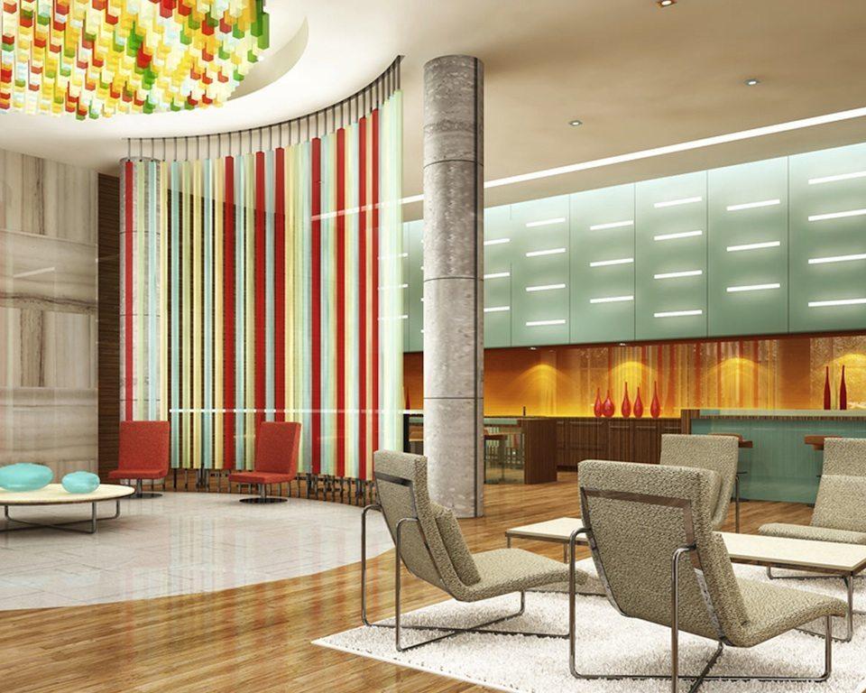 Solaris at Metrogate Condos Lobby Toronto, Canada