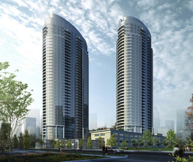 Solaris at Metrogate Condos Building View Toronto, Canada
