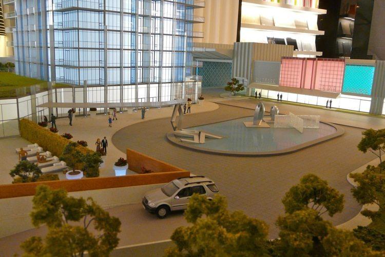 South Beach Condos & Lofts Garden Model Toronto, Canada
