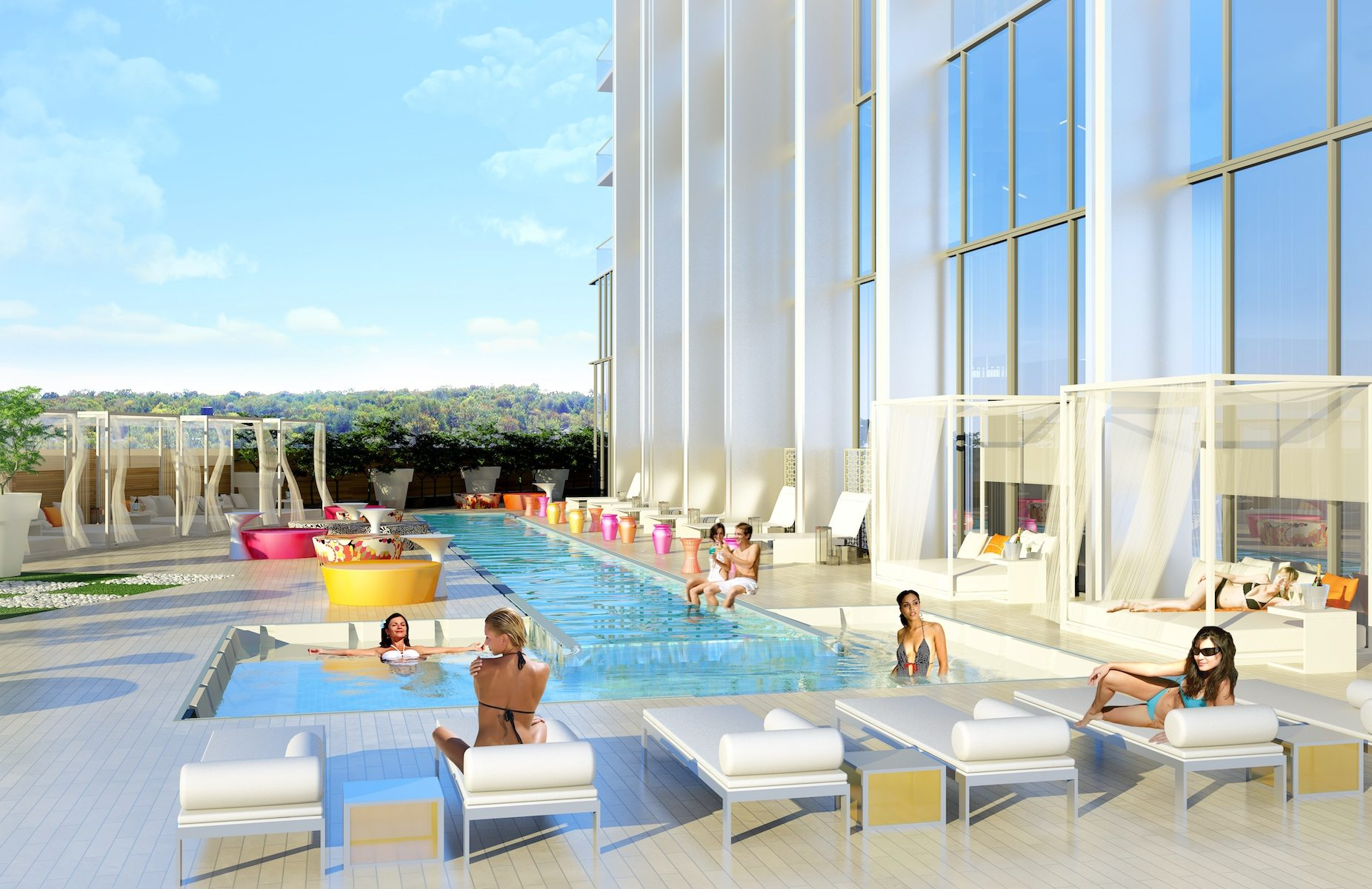 South Beach Condos & Lofts Swimming Pool Toronto, Canada