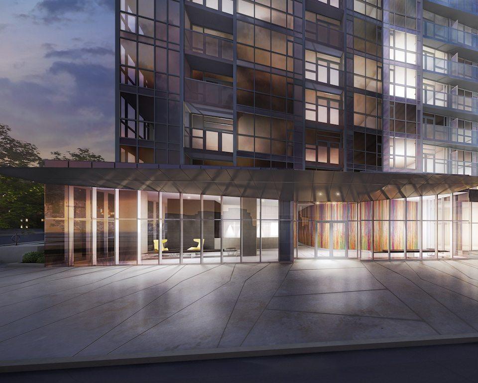 Spectra at Concord CityPlace Concierge Entrance Toronto, Canada