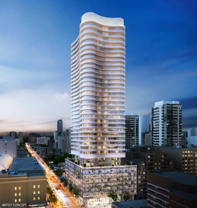 Stanley Condos Building View Toronto, Canada