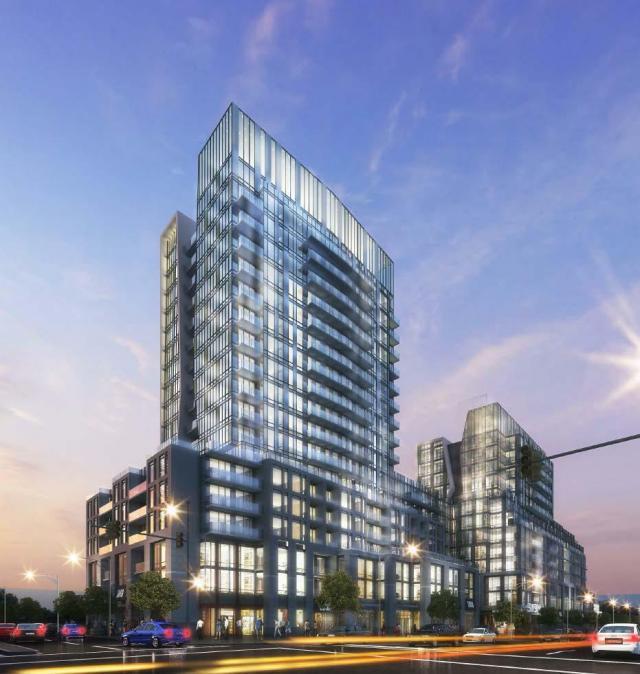 Sunnybrook Plaza Redevelopment Building View Toronto, Canada