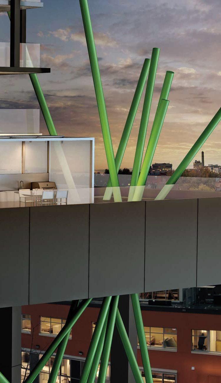 Tableau Condominiums Balcony Toronto, Canada