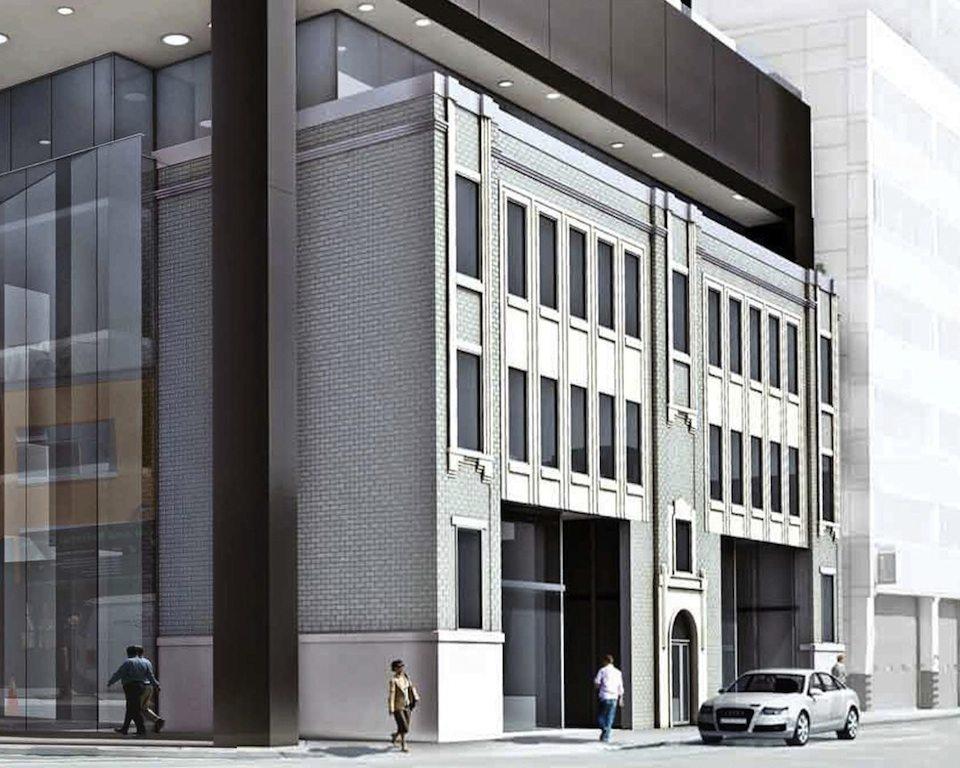 Tableau Condominiums Front View Toronto, Canada