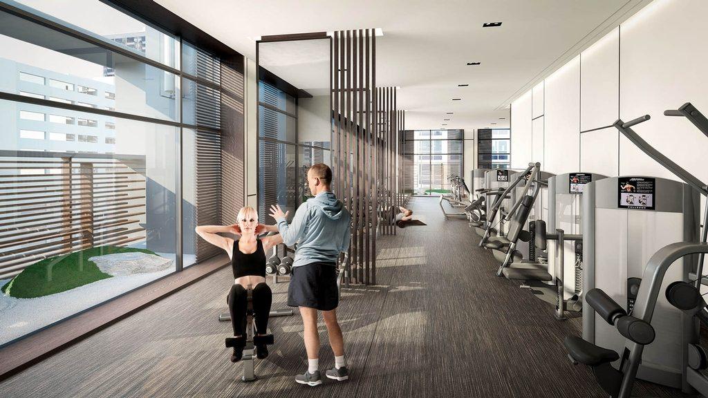TeaHouse Condos Gym Toronto, Canada