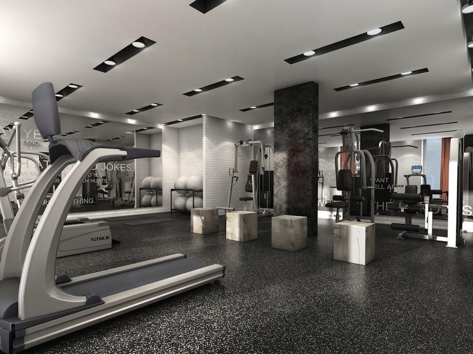 Ten93 Queen West Condos Gym Toronto, Canada