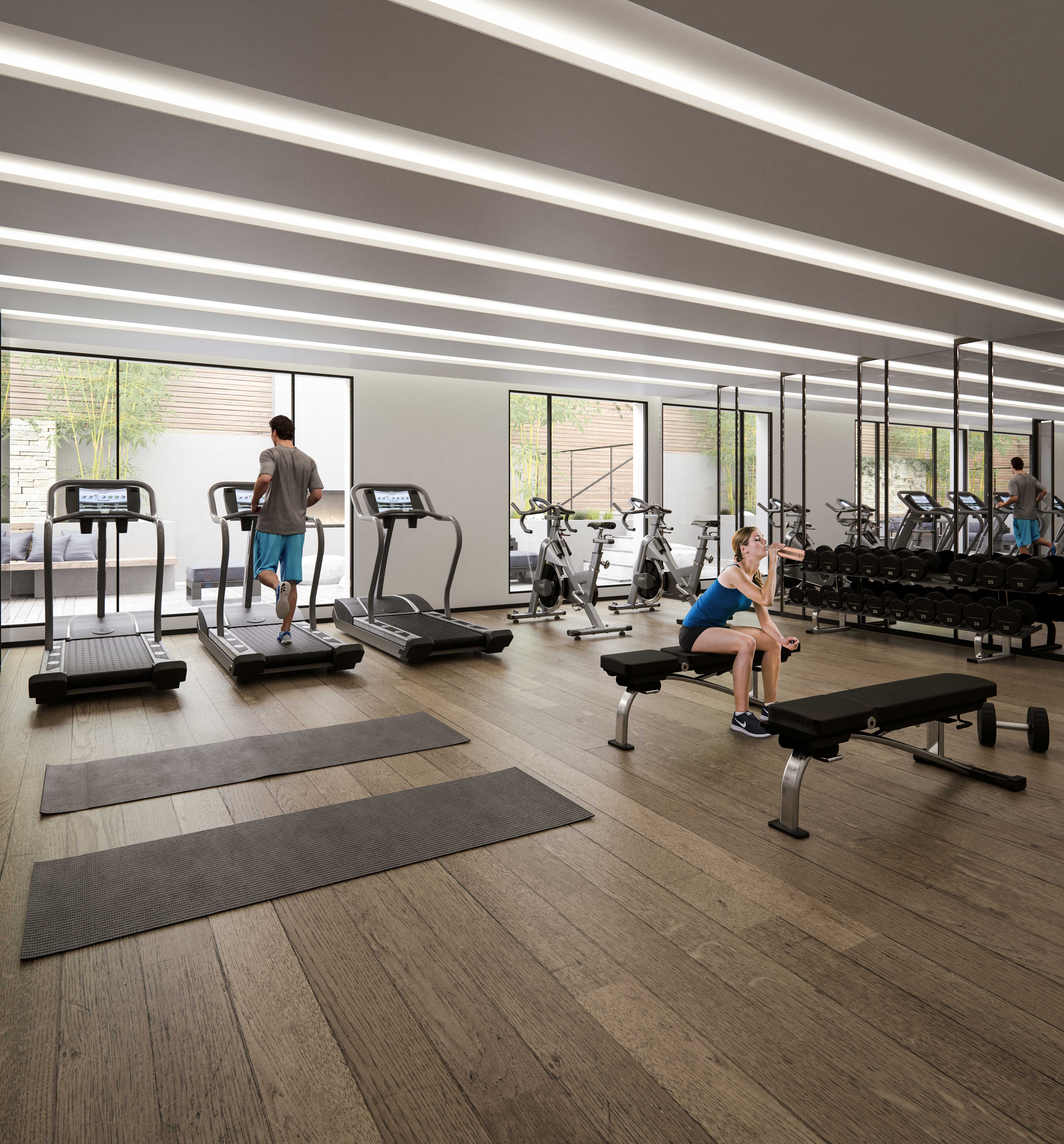 The Roncy Condos Gym Toronto, Canada
