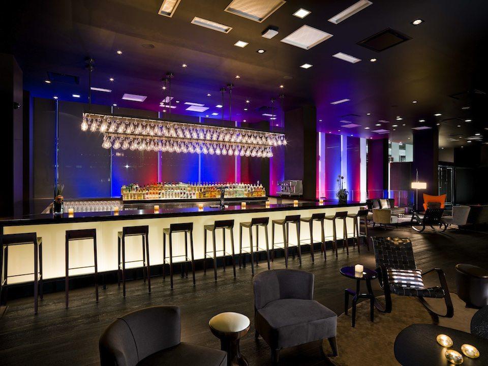 Thompson Hotel & Residences Wine Lounge Toronto, Canada
