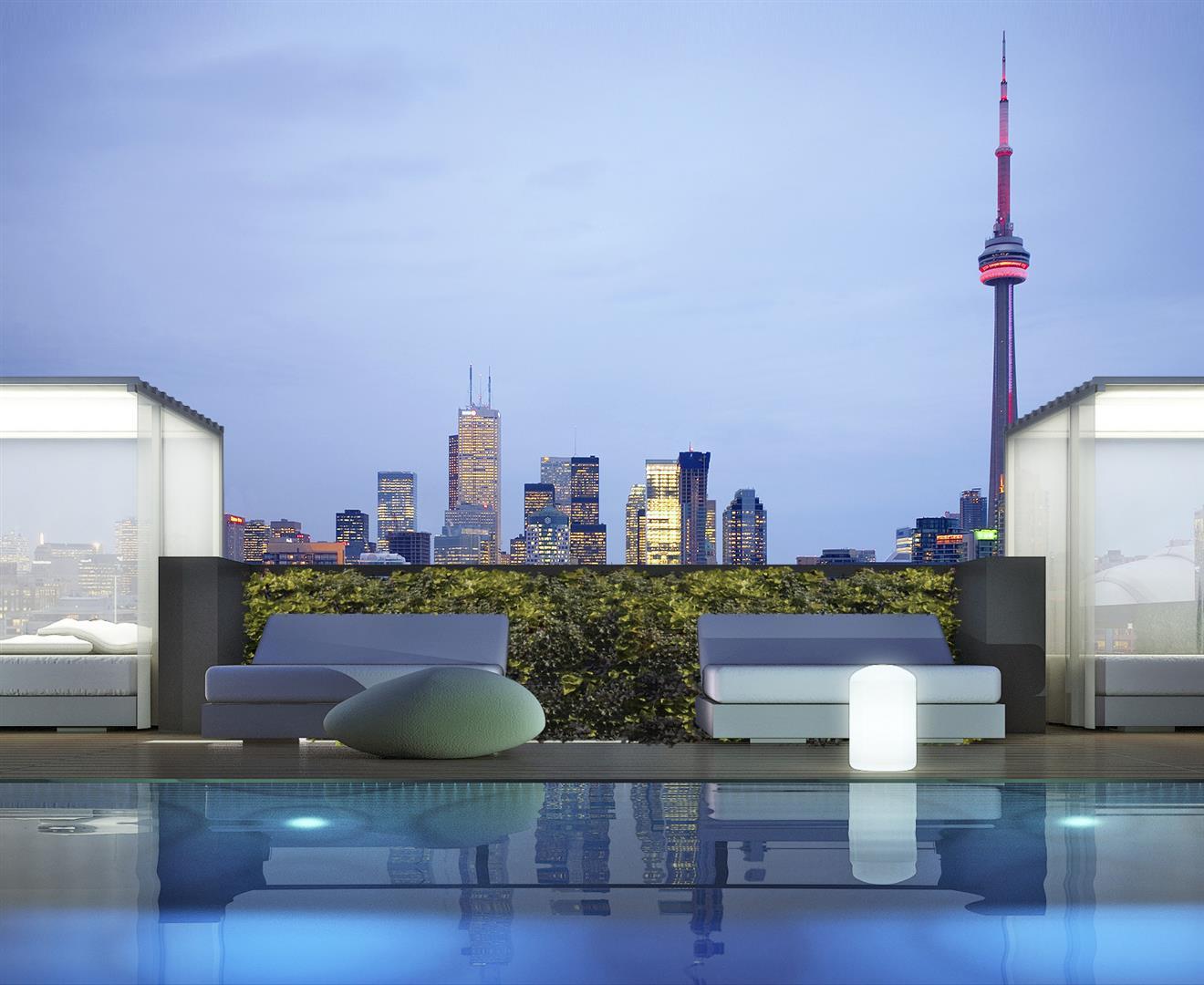 Thompson Residences Cabana Toronto, Canada