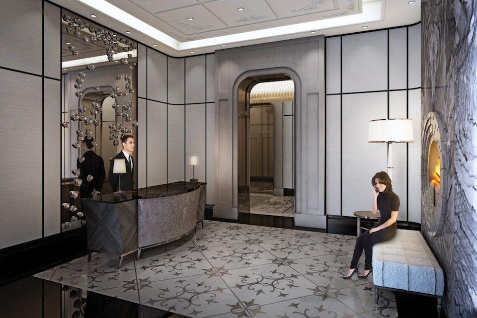 Bisha Hotel and Residences Lobby Toronto, Canada