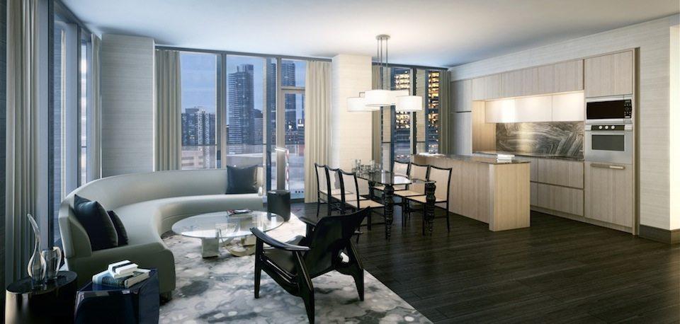 Bisha Hotel and Residences Living Area Toronto, Canada