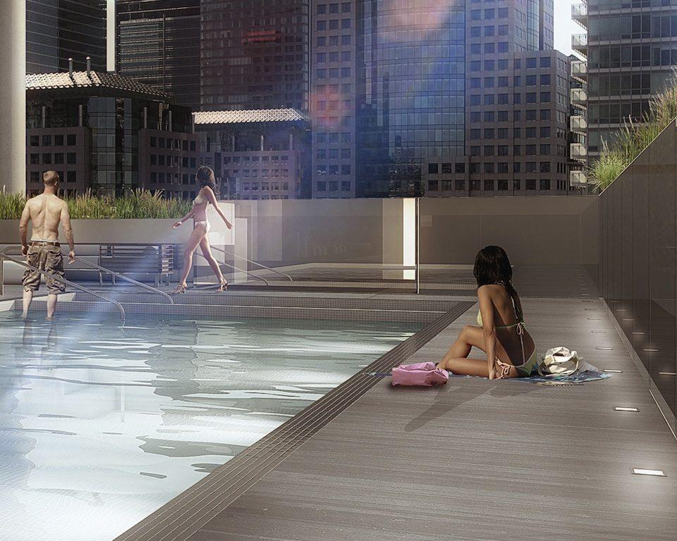 Bond Condos Swimming Pool Toronto, Canada