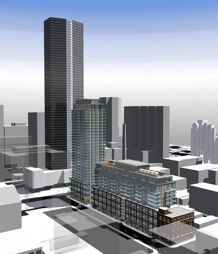 Boutique 2 Condos Building View Toronto, Canada