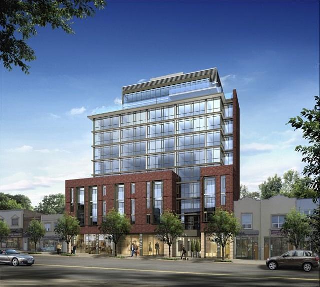 Carmelina Condos Building View Toronto, Canada