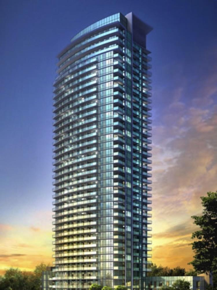 Rendering of Emerald City Condos Exterior