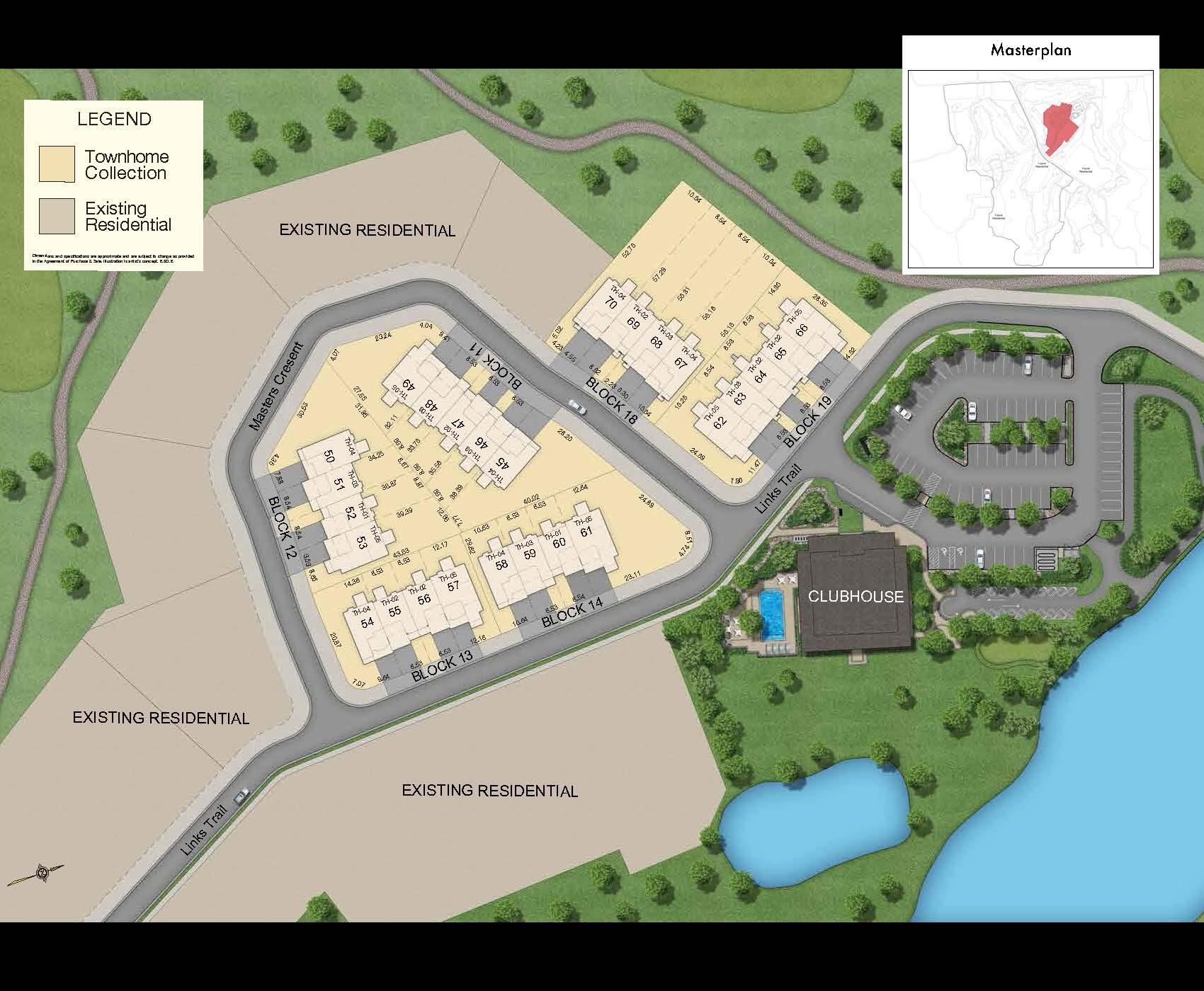 Oak Bay Condos Plan View Toronto, Canada