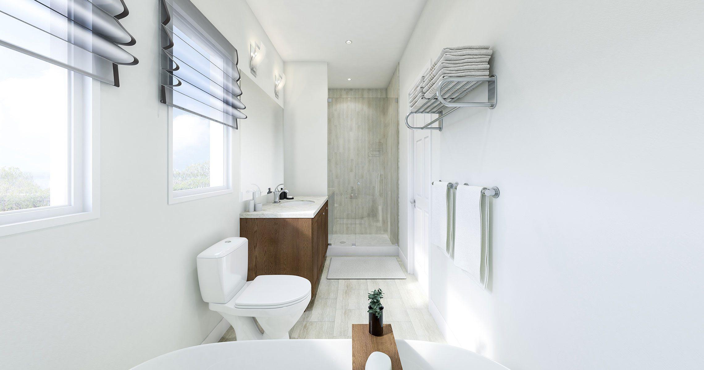 Oak Bay Condos Bathroom Toronto, Canada