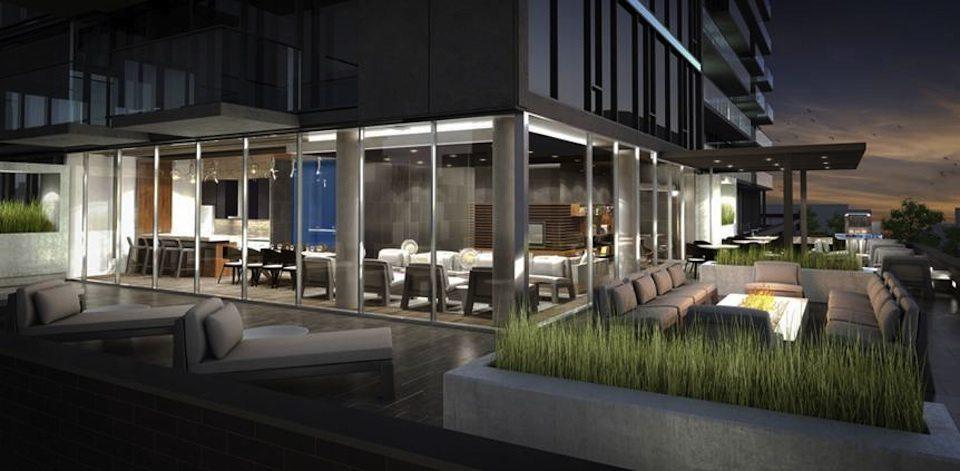 oneeleven Condominiums Terrace Toronto, Canada