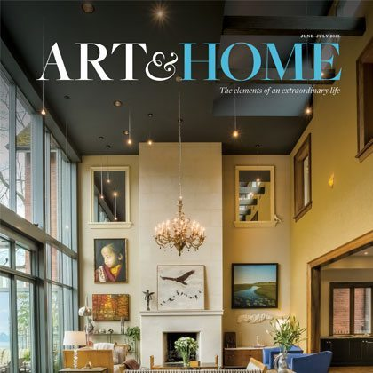 Art & Home magazine example.