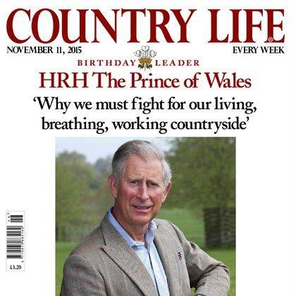 Country Life magazine example.