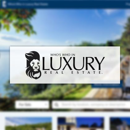 Logo - Who's who in Luxury Real Estate