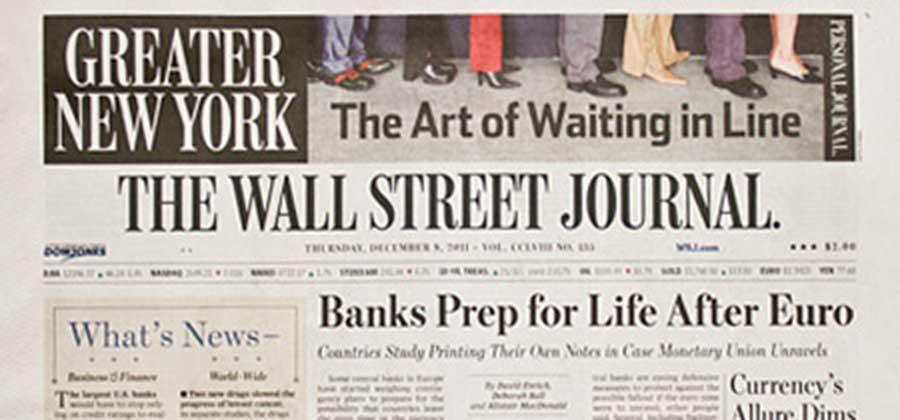 The Wall Street Journal - Greater New York - Sothebys International Realty Canada Extraordinary Real Estate Marketing
