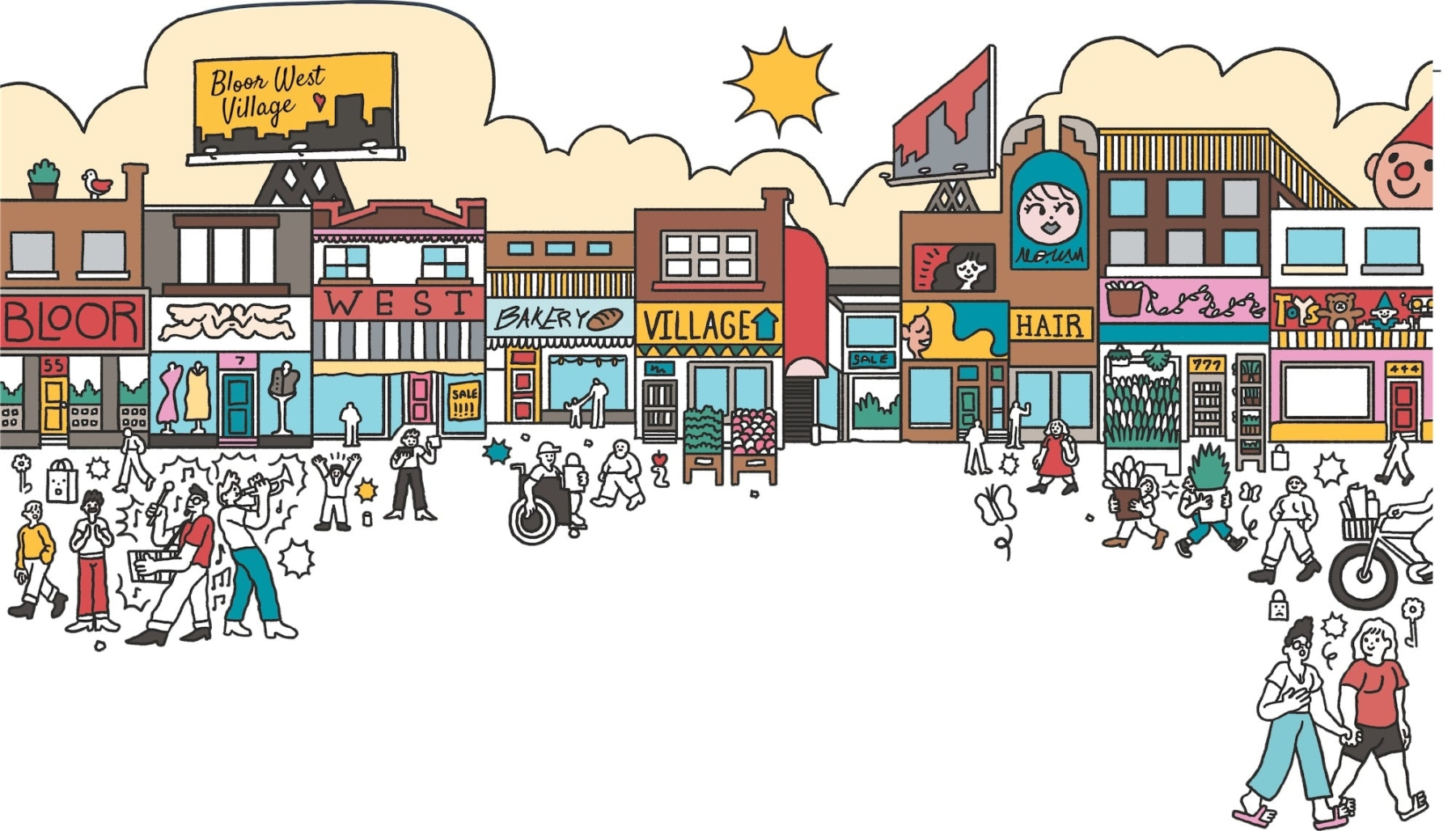 Illustration of Southport in Swansea Bloor West