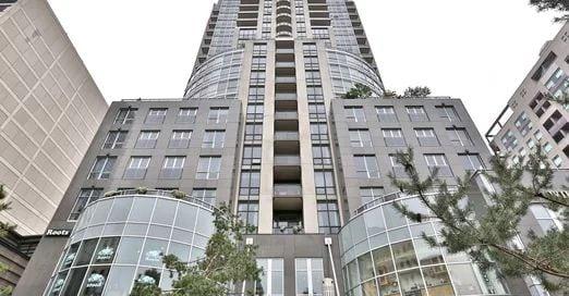 Exterior image of the 10 Bellair Condos in Toronto