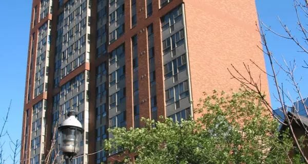 Exterior image of the 25 Elm Street in Toronto