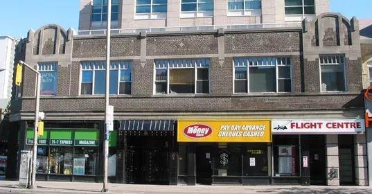 Exterior image of the 409 Bloor Street East in Toronto