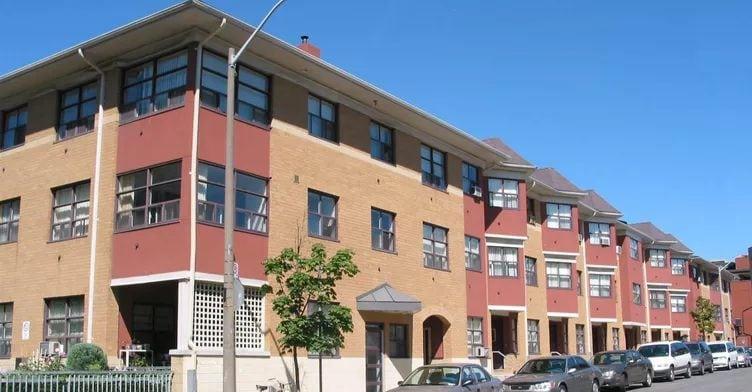 Exterior image of the 76 Grange Avenue in Toronto