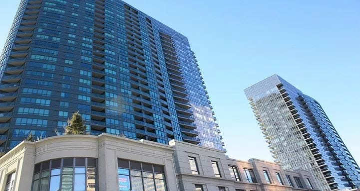 Exterior image of the Meridian South Building in Toronto