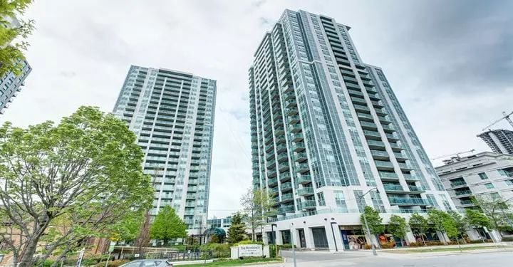 Exterior image of the Residences of Avondale 2 Condos in Toronto