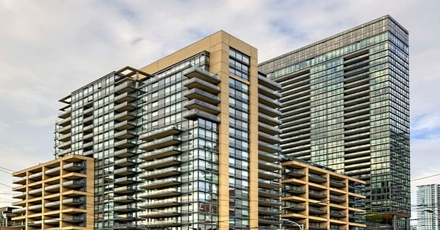 Exterior image of the The Hudson in Toronto