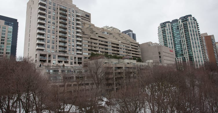 Exterior image of the The Rosedale in Toronto