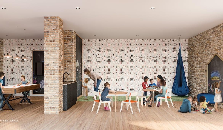Stockyards District Residences Kids Play Area