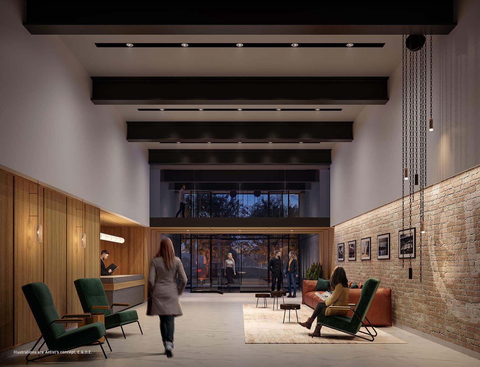 Stockyards District Residences Lobby