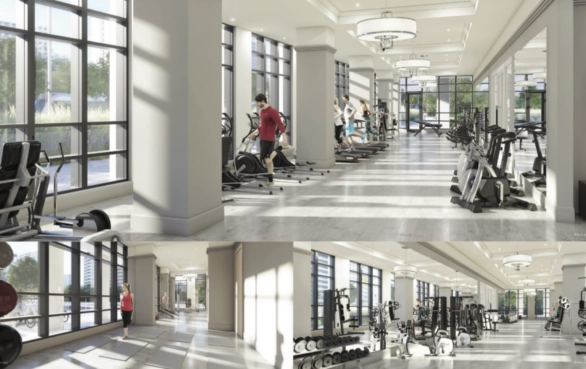 Edge Tower 2 Exterior Gym
